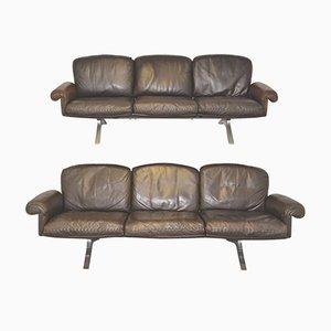 DS 31 Sofas von de Sede, 1970er, 2er Set