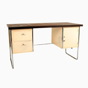 Mid-Century German Tubular Steel Desk