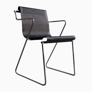 Chaise de Bureau Vintage en Métal