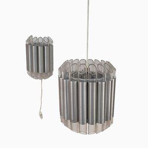 Lampada da parete e a sospensione di RAAK Amsterdam, Olanda, 1965, set di 2