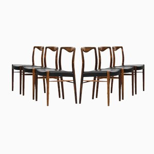 Dining Chairs by Kai Lyngfeldt-Larsen for Søren Willadsen, Set of 6