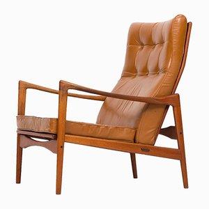 Örenäs Armlehnstuhl von Ib Kofod-Larsen für OPE, 1950er