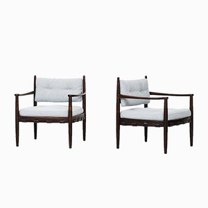 Mid-Century Swedish Easy Chairs from Ire Möbler, 1960s, Set of 2