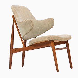 Danish Easy Chair by Ib Kofod-Larsen for Christensen & Larsen