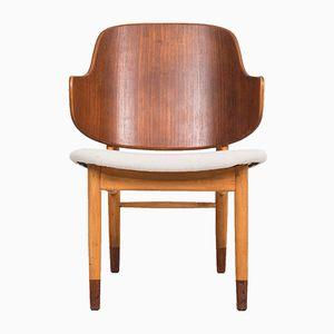 Shell Stuhl von Ib Kofod Larsen für Christensen & Larsen, 1950er