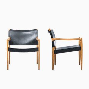 Poltrone Premiär di Per-Olof Scotte per IKEA, anni '50, set di 2