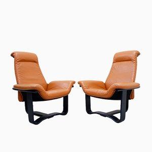 Norwegische Manta Sessel von Ingmar Relling für Westnofa, 1970er, 2er Set