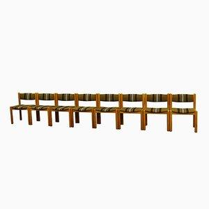 Vintage Scandinavian Dining Chairs, Set of 8