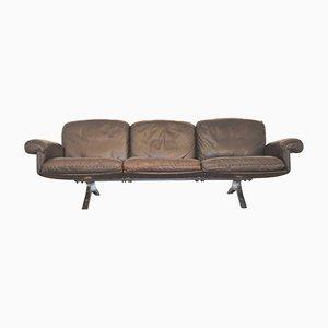 Sofá de tres plazas DS 31 suizo de de Sede, años 70