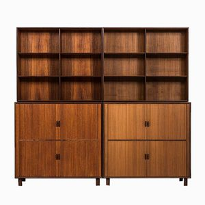 Swedish Teak Bookcase from Westbergs Möbler, 1950s