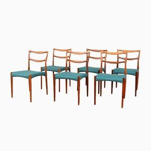 Dänische Palisander Stühle von H. W. Klein, 1960er, 6er Set