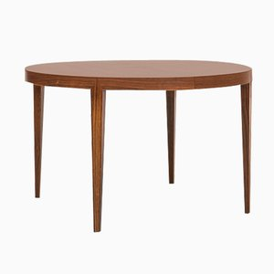 Rosewood Dining Table by Severin Hansen for Haslev Møbelsnedkeri, 1960s