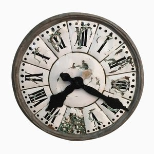 Antique French Church Clock Face