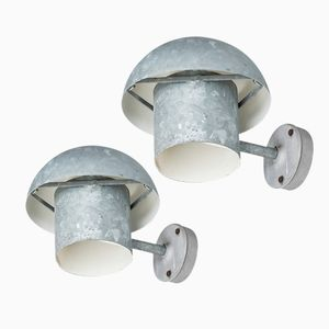 Danish Mid-Century Wall Lamps by Bjarne Bech for Louis Poulsen, Set of 2