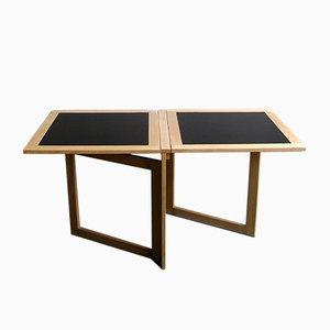 Tavolino da caffè pieghevole di Arne Robbert per Rud Rudmussen, 1993