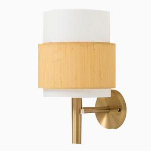 Swedish Mid-Century Wall Lamp by Uno & Östen Kristiansson