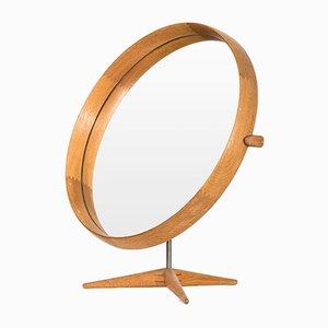 Specchio da tavolo vintage di Uno & Östen Kristiansson per Luxus