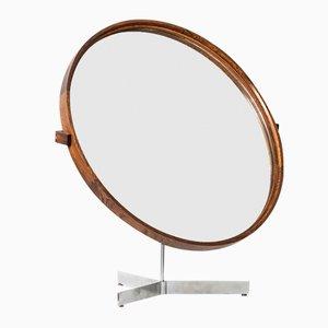 Espejo de mesa sueco de Uno & Östen Kristiansson para Luxus, años 60