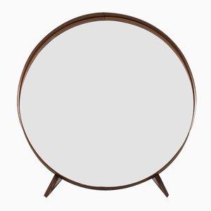 Miroir de Table Mid-Century par Uno & Östen Kristiansson pour Luxus