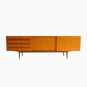 Cherrywood Sideboard with Sliding Doors from Wilhelm Renz, 1960s