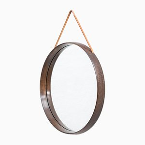 Miroir Rond Mid-Century, Suède