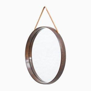 Specchio rotondo Mid-Century, Svezia