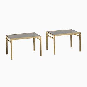 Tavolini Mid-Century, Finlandia, anni '70, set di 2