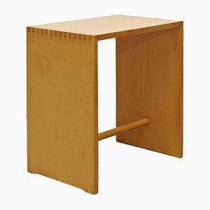 Sgabillo Hocker aus Holz von Max Bill für Zanotta