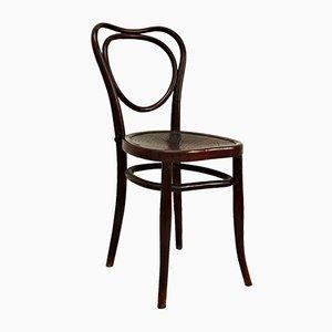 Schichtholz Stuhl von J.J. Kohn, 1890er
