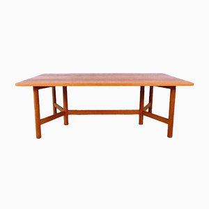 Grande Table Basse en Teck de Rasmus Solberg, Norvège, 1960s