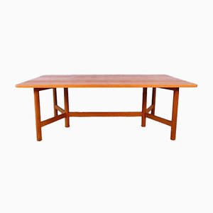 Large Norwegian Teak Coffee Table from Rasmus Solberg, 1960s