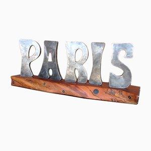 Lettere Paris in zinco, anni '30