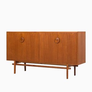 Swedish Oak and Teak Sideboard by Tove & Edvard Kindt-larsen for Seffle Möbelfabrik, 1950s