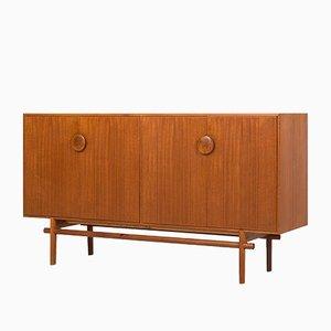 Swedish Oak and Teak Sideboard by Tove & Edvard Kindt-larsen for Seffle Möbelfabrik, 1950s