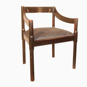 Italian Carimate Chair by Vico Magistretti for Cassina, 1959