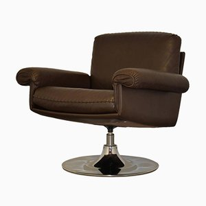 Swiss Vintage DS 31 Swivel Lounge Armchair from De Sede, 1970s