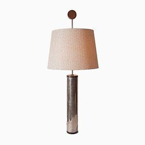 Lampada da tavolo in legno Jacaranda di Sergio Rodrigues per OCA