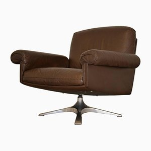 Swiss DS 31 Swivel Lounge Armchair from de Sede, 1970s