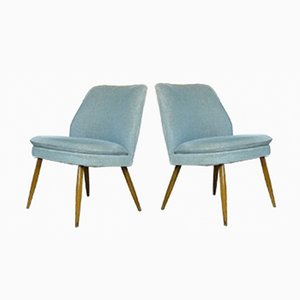 Chaises Club par Wilhelm Knoll, 1960s, Set de 2