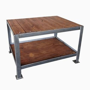 French Industrial Atelier Table