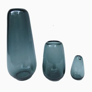 Vases by Wilhelm Wagenfeld for WMF Geislingen, 1950s, Set of 3
