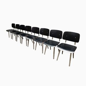 Revolt Chairs by Friso Kramer for Ahrend de Cirkel, 1964, Set of 8