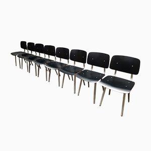 Revolt Stühle von Friso Kramer für Ahrend de Cirkel, 1964, 8er Set
