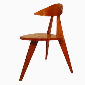 Chaise à Trois Pieds par Walter Papst pour Wilkhahn, 1955