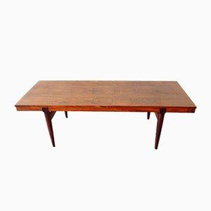 Mesa de centro extensible danesa de palisandro