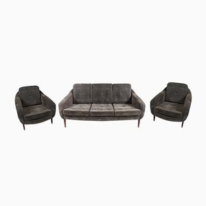 Stella Lounge Set by Sergio Rodrigues for Oca