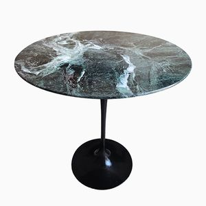 Alpi Verde Marble Side Table by Eero Saarinen for Knoll International, 1970s