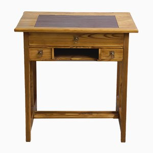 Small Art Nouveau Softwood Ladies' Desk, 1910s