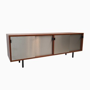 Credenza Mid-Century in teak di Florence Knoll per Knoll International