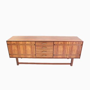 Swedish Rosewood Sideboard with Marquetry, 1960s